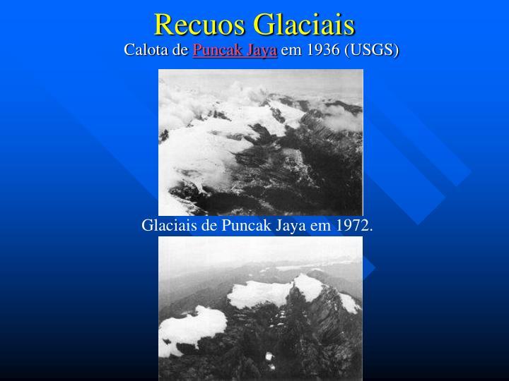 Recuos Glaciais
