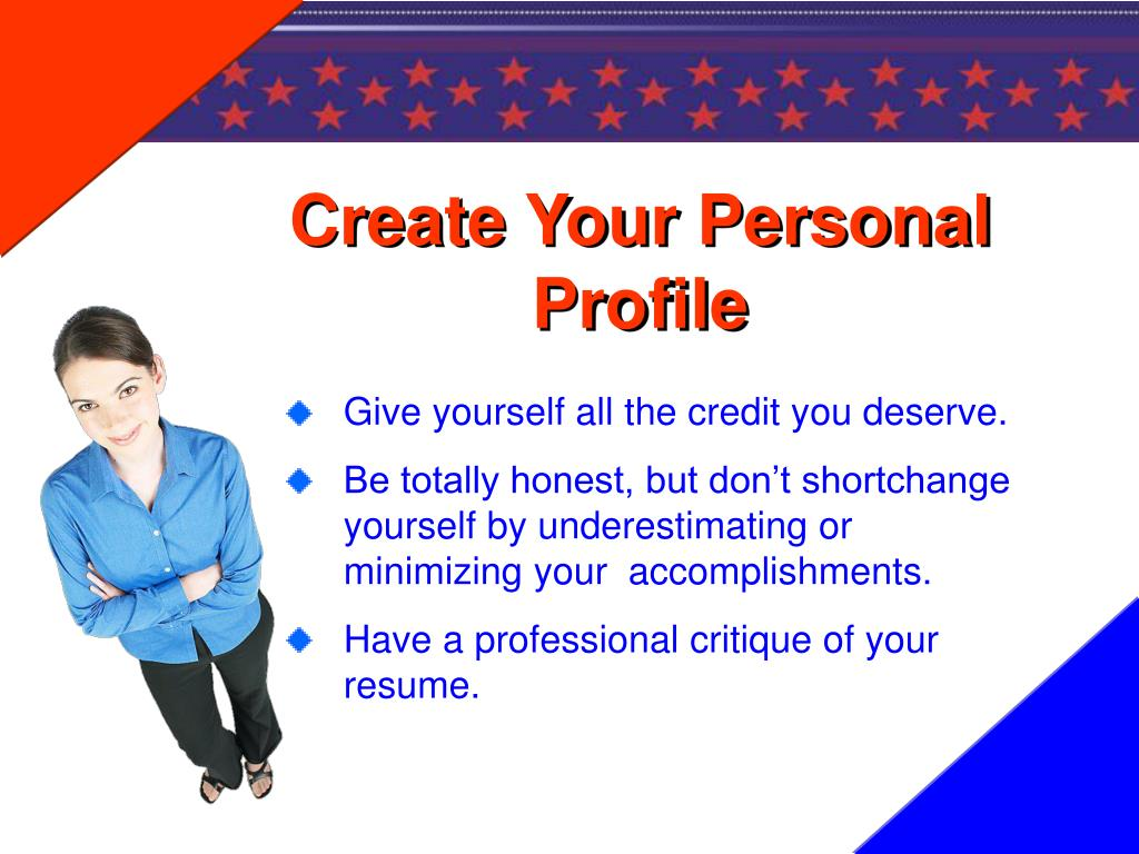 Create Your Personal