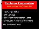 tarleton connection www tarleton edu connection