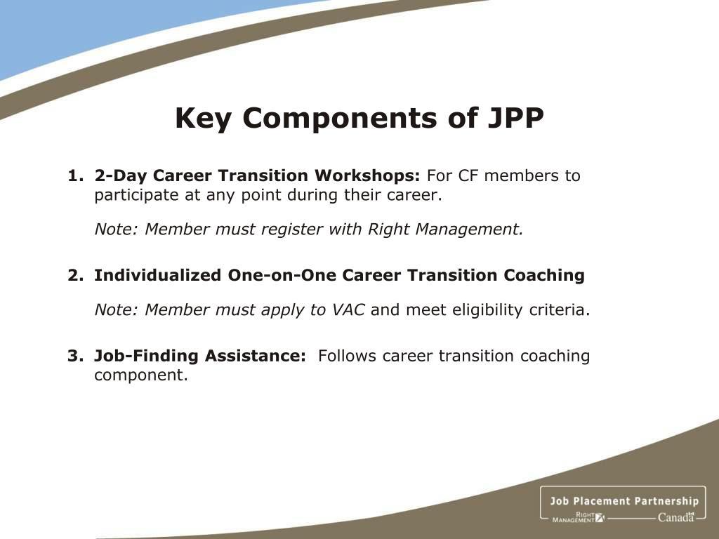 Key Components of JPP