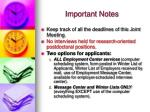 important notes9