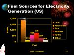 fuel sources for electricity generation us
