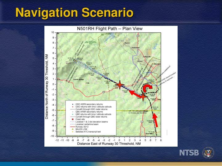 Navigation Scenario