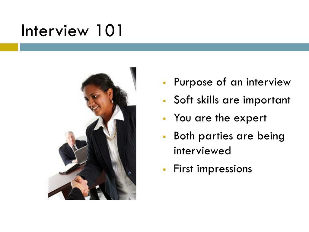 Interview 101