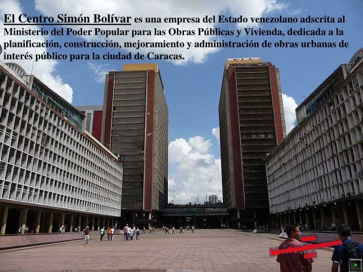 El Centro Simón Bolívar