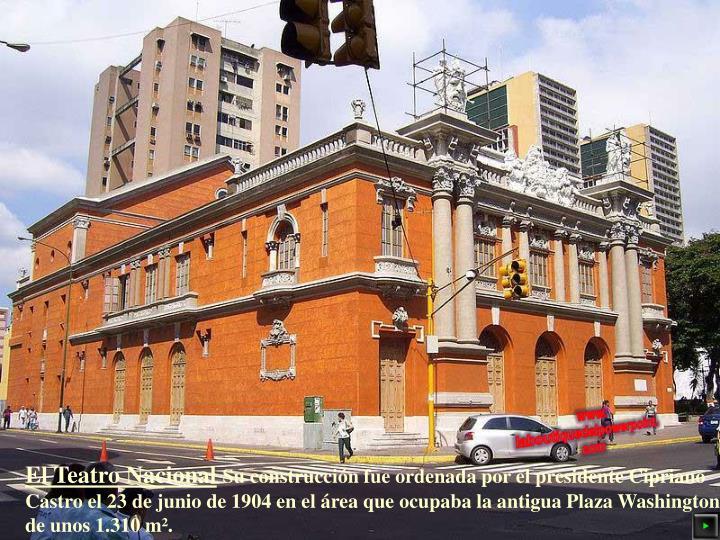 El Teatro Nacional
