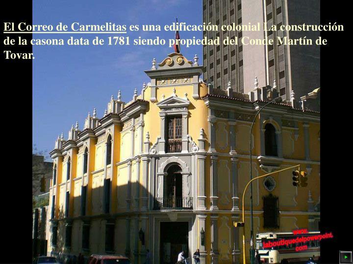El Correo de Carmelitas