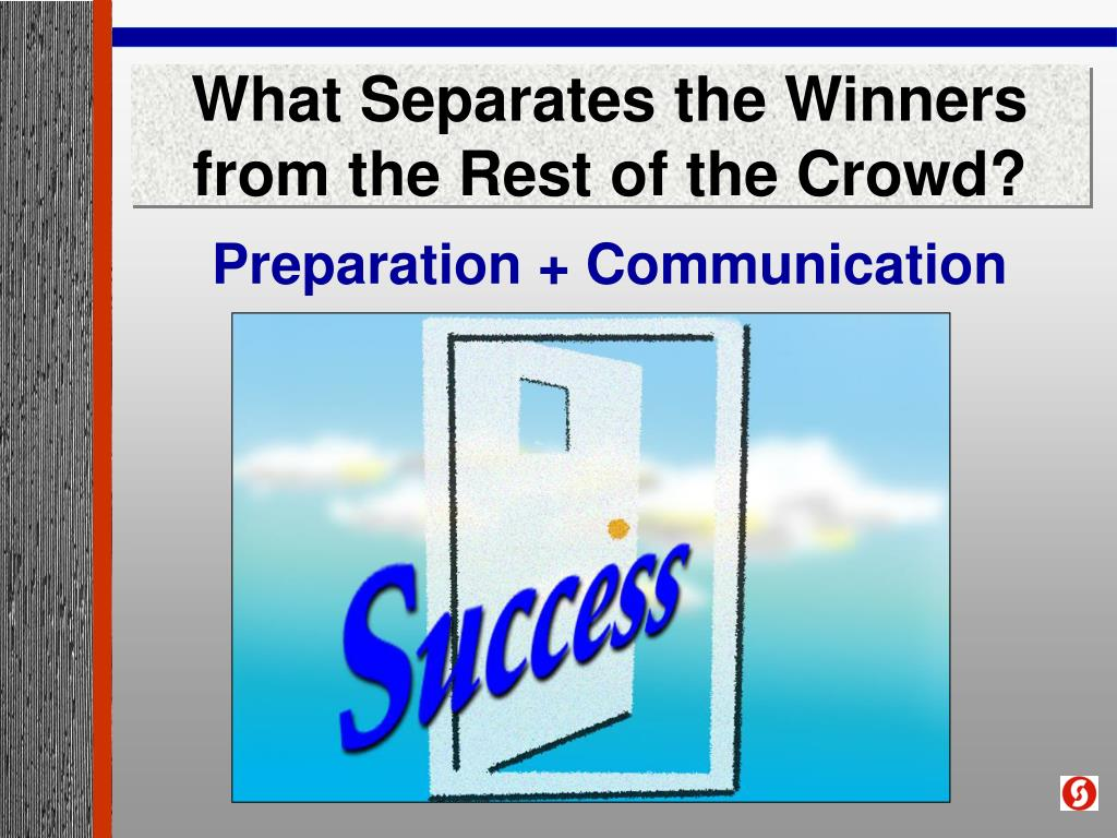 What Separates the Winners from the Rest of the Crowd?