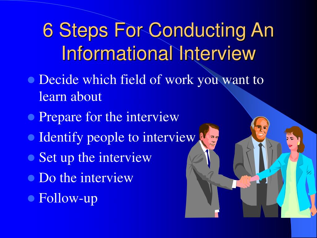 6 Steps For Conducting An Informational Interview
