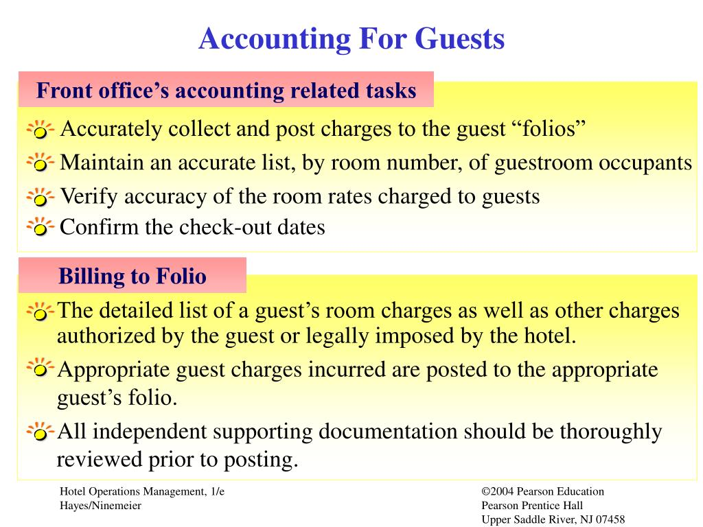 Accounting For Guests