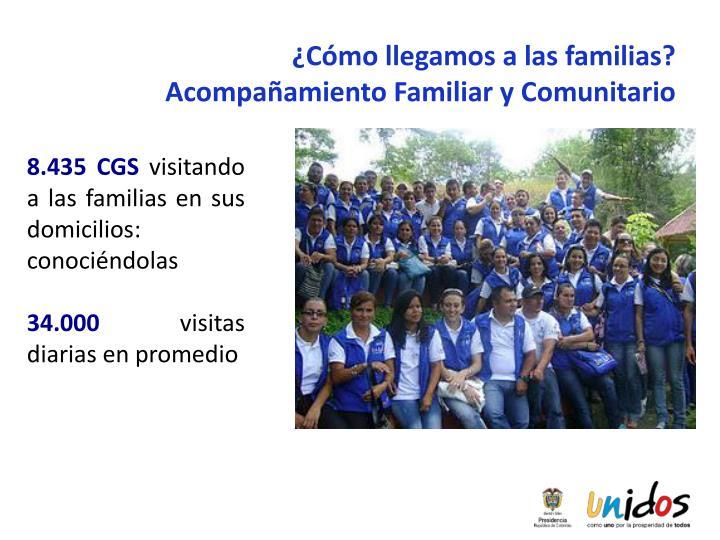 ¿Cómo llegamos a las familias? Acompañamiento Familiar y Comunitario