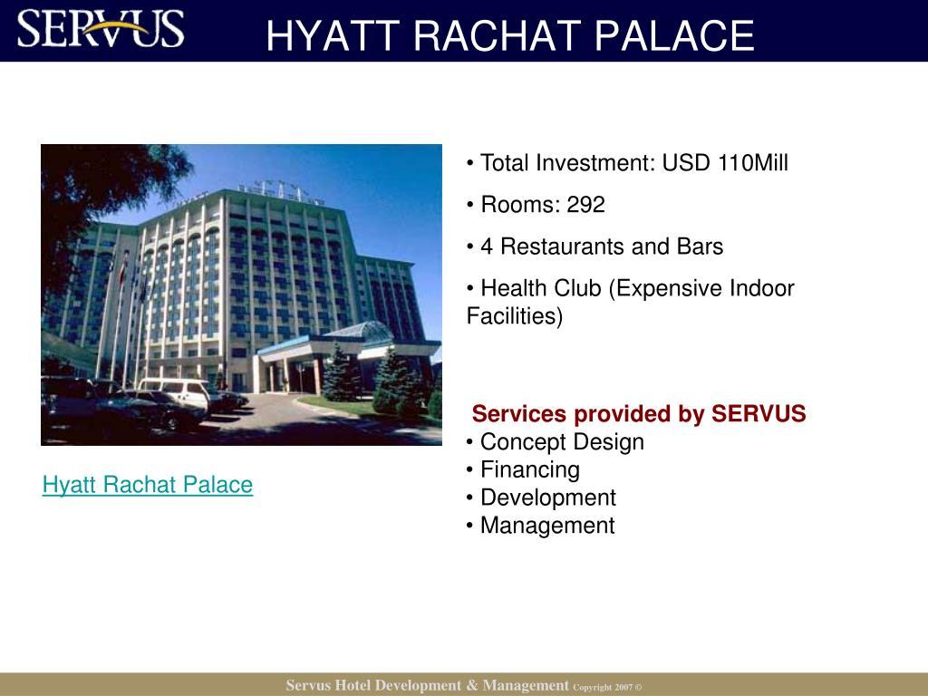 HYATT RACHAT PALACE