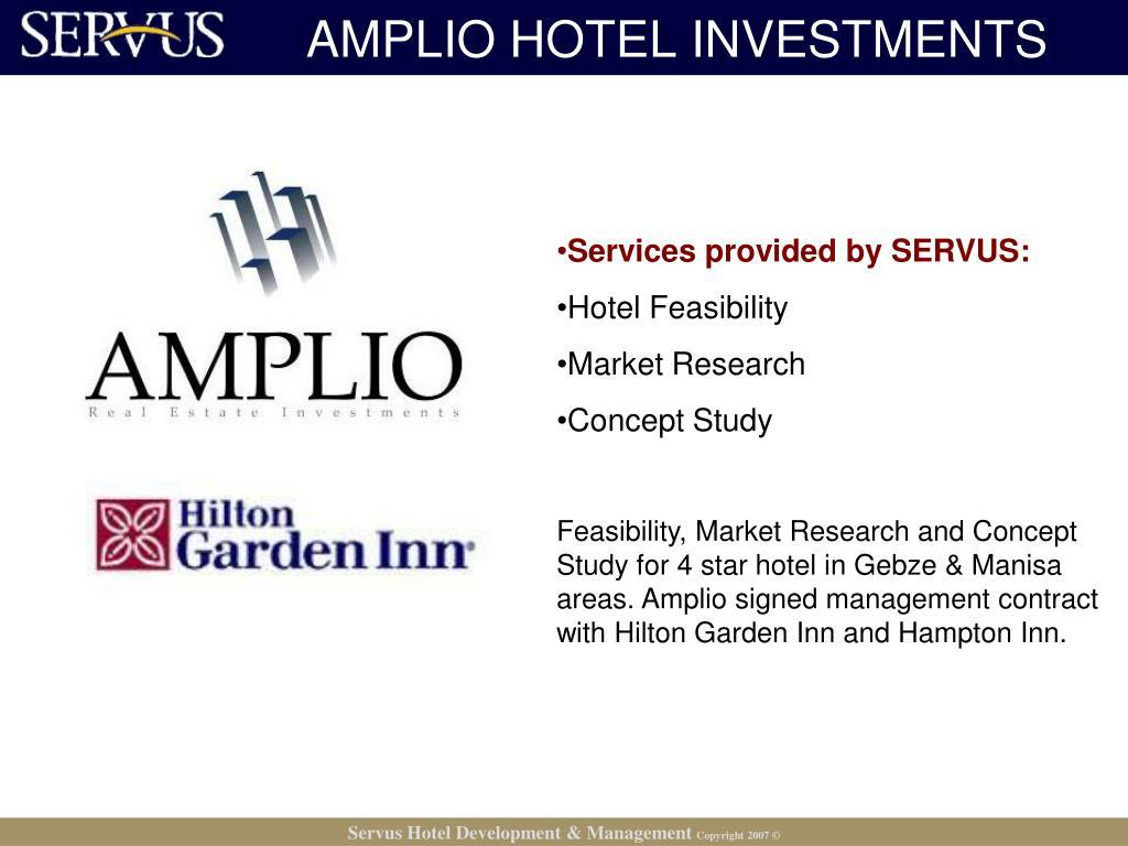 AMPLIO HOTEL INVESTMENTS