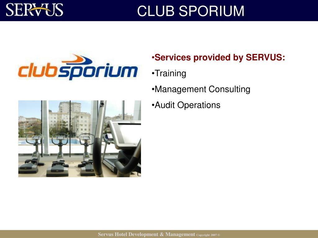 CLUB SPORIUM