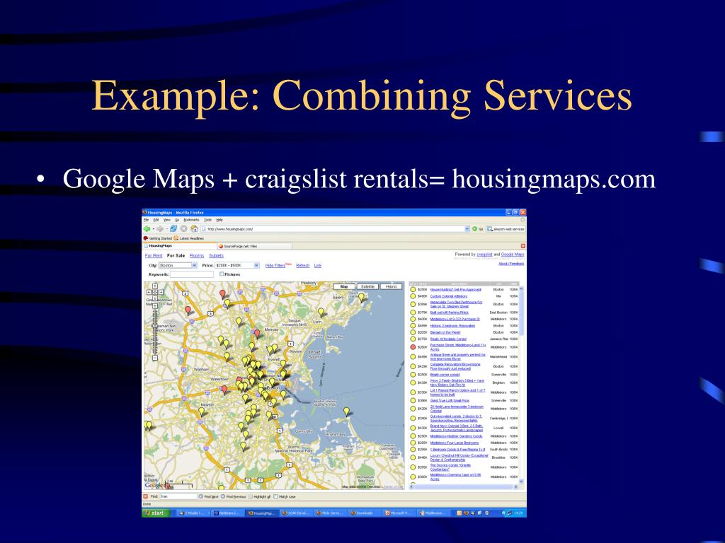 Example: Combining Services