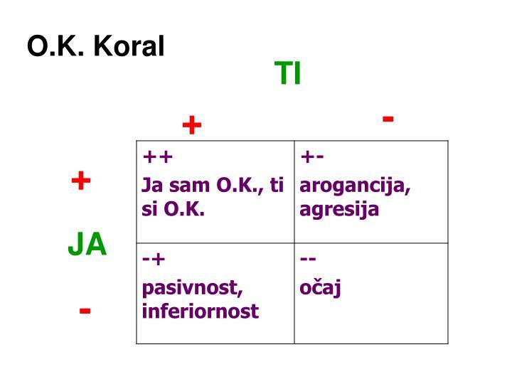O.K. Koral