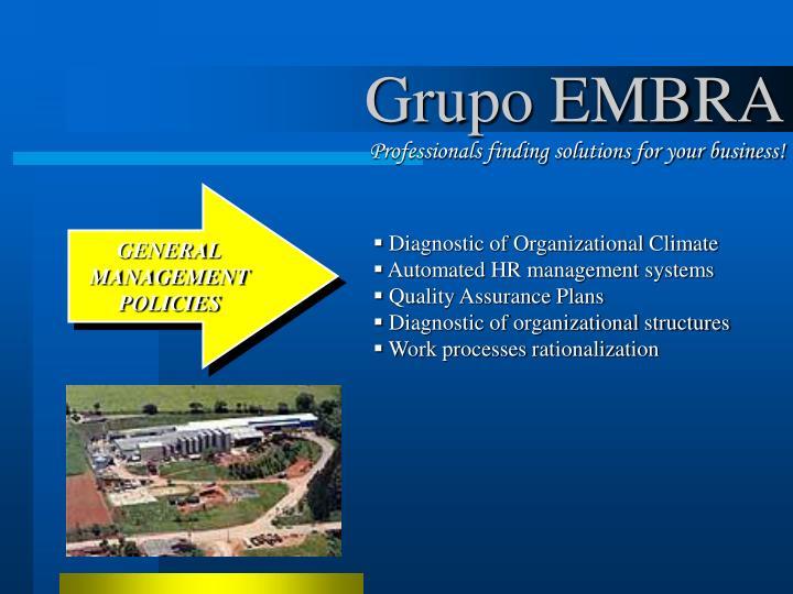 Grupo EMBRA