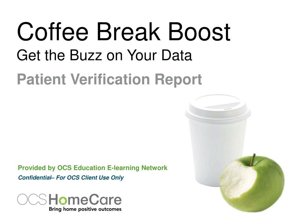 Coffee Break Boost