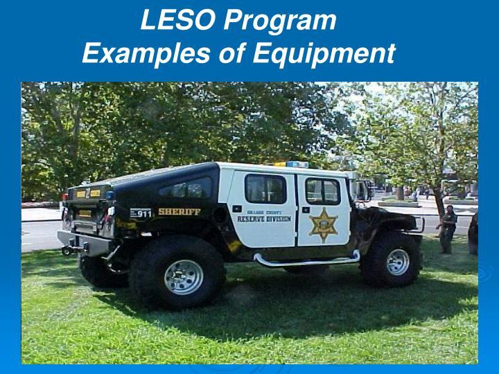 LESO Program
