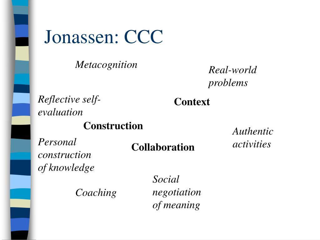 Jonassen: CCC