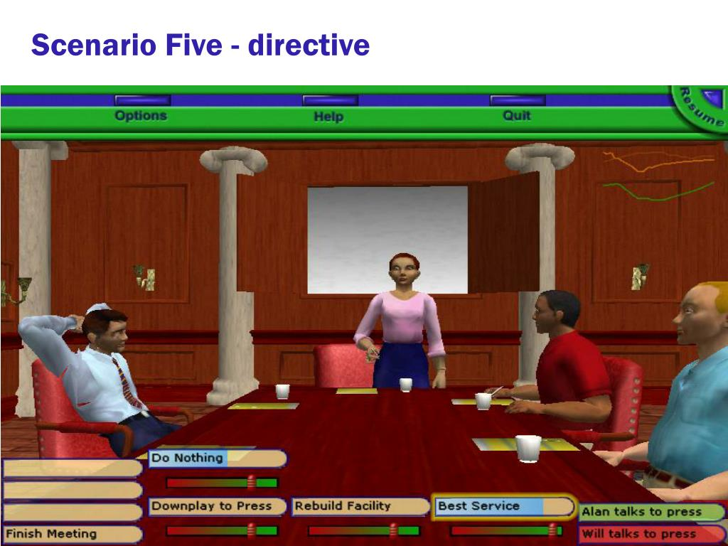 Scenario Five - directive