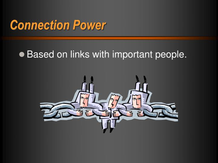 Connection Power