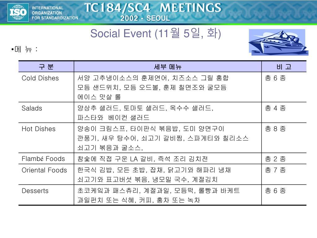 Social Event (11