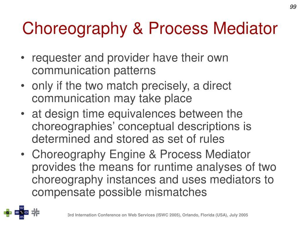 Choreography & Process Mediator