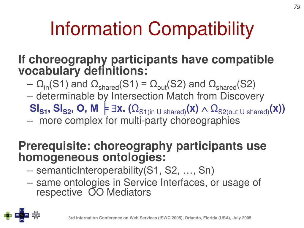 Information Compatibility