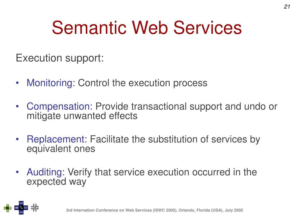 Semantic Web Services
