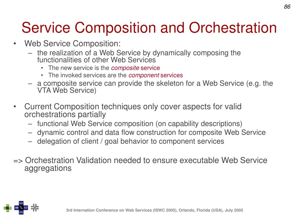 Service Composition and Orchestration