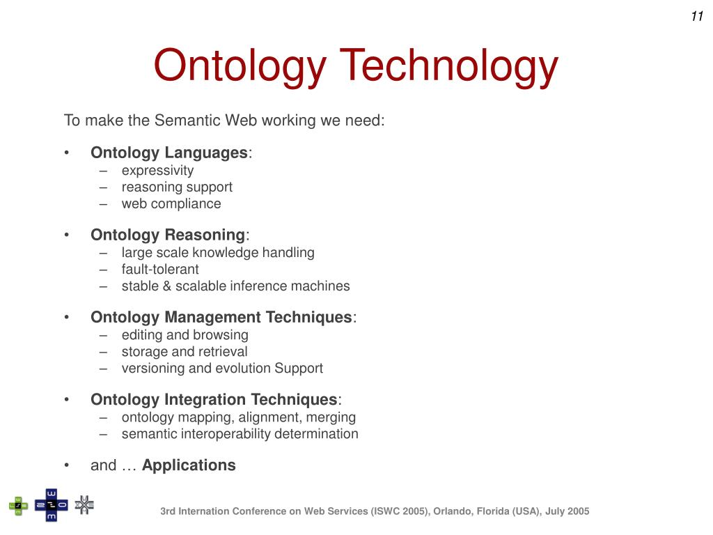 Ontology Technology