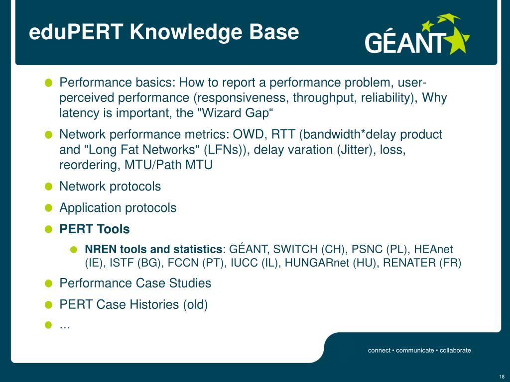 eduPERT Knowledge Base