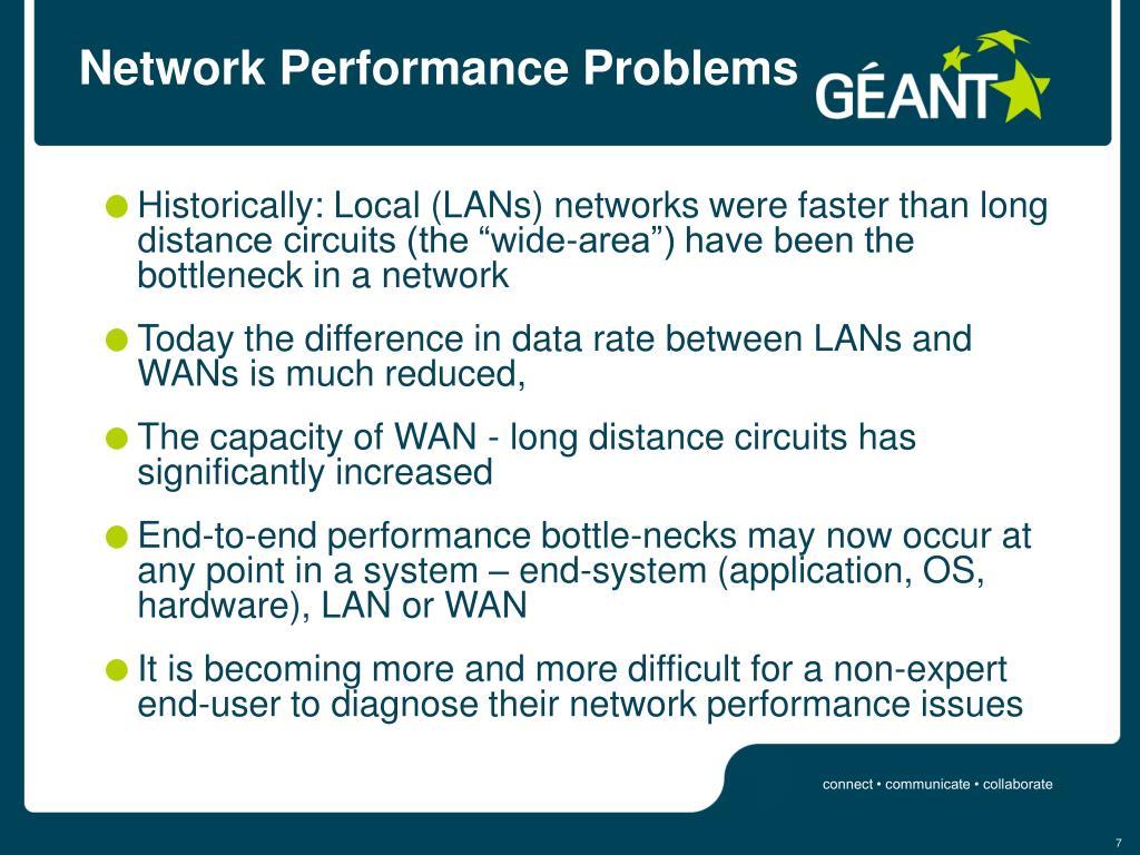Network Performance Problems