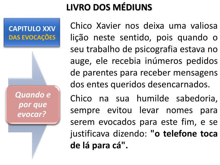 LIVRO DOS MÉDIUNS