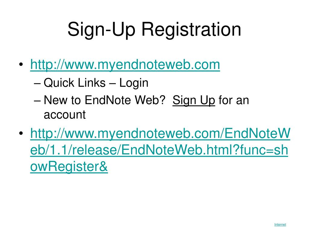 Sign-Up Registration