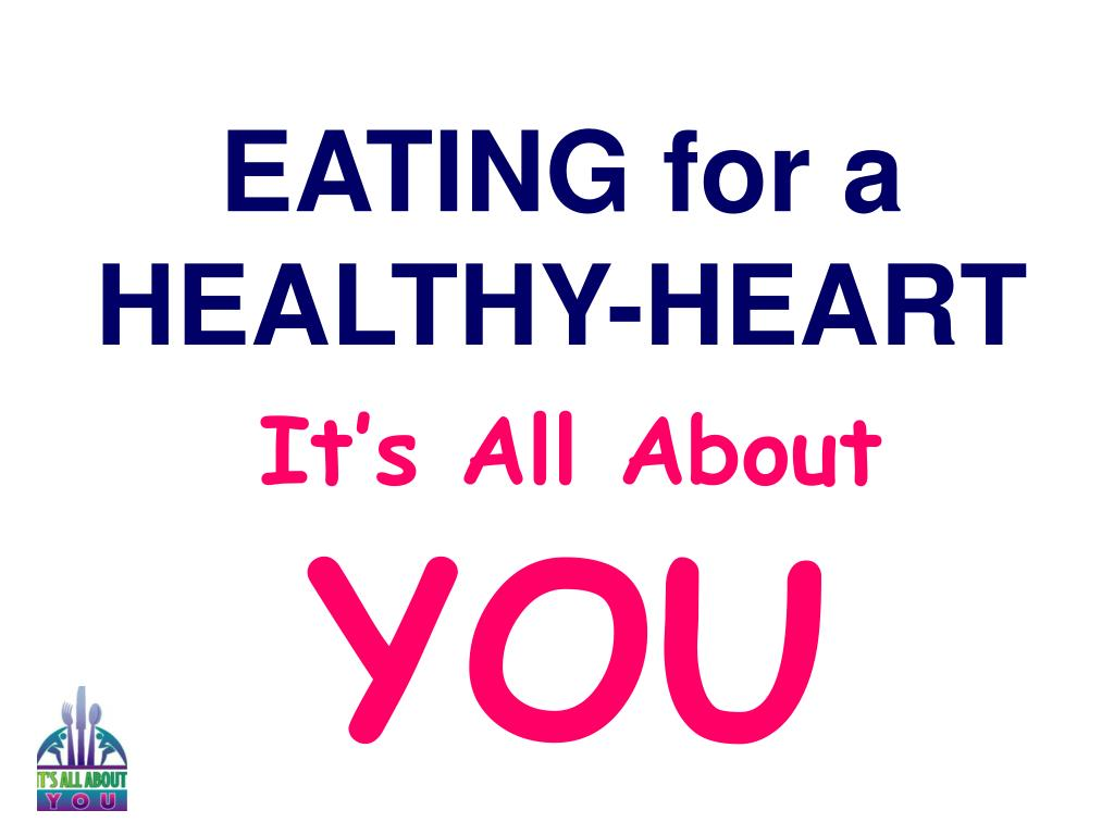 EATING for a HEALTHY-HEART