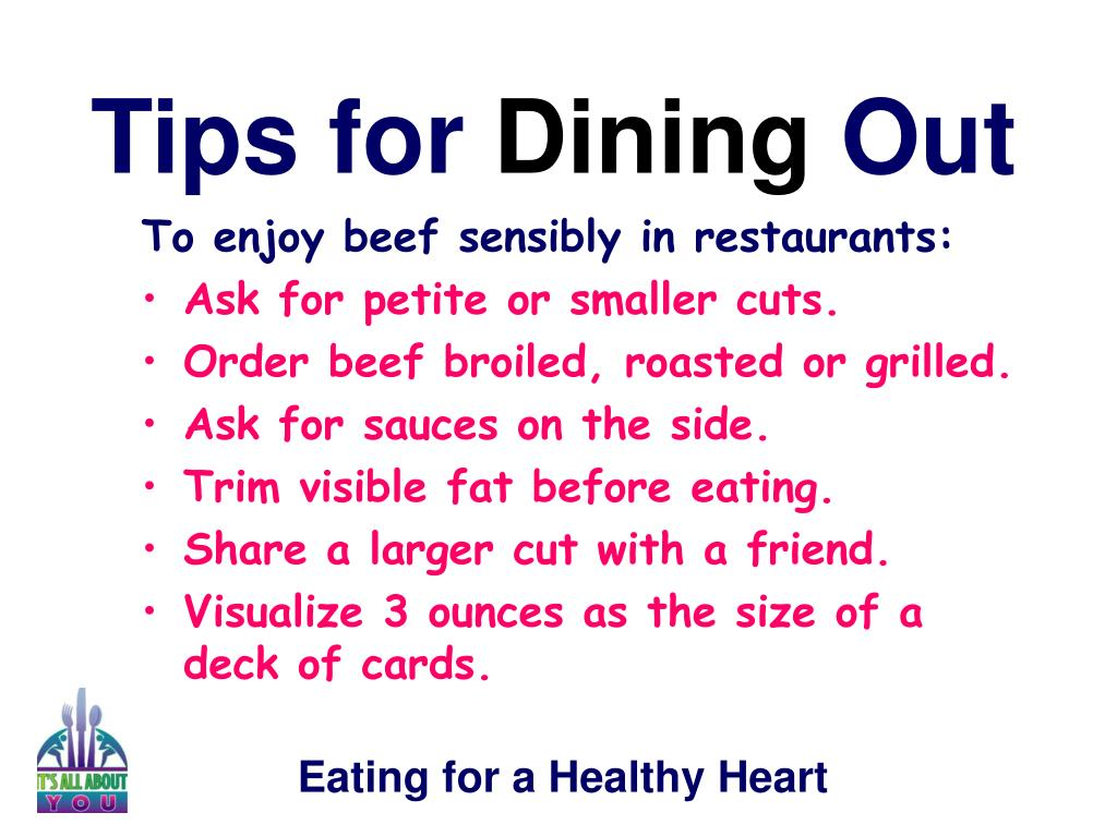 Tips for