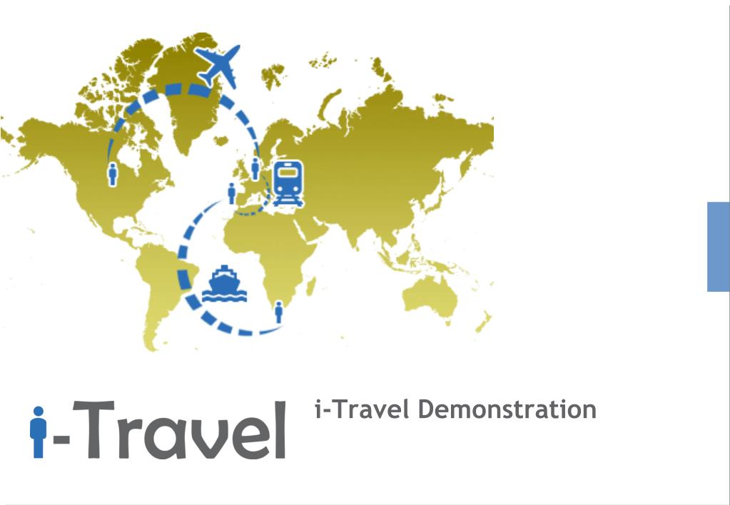 i-Travel Demonstration