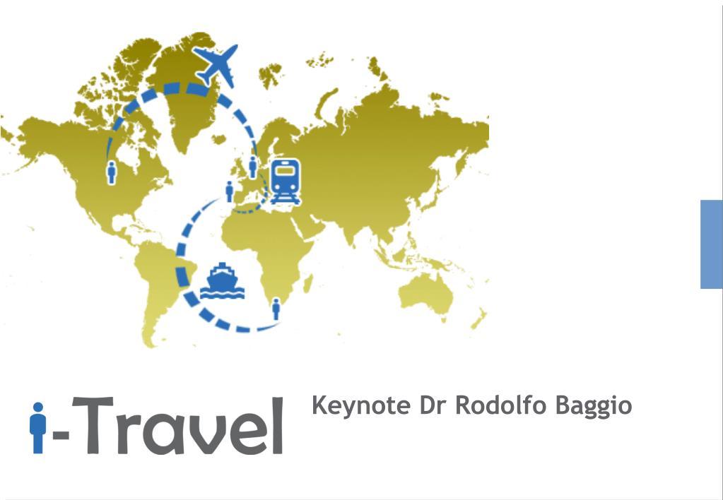 Keynote Dr Rodolfo Baggio