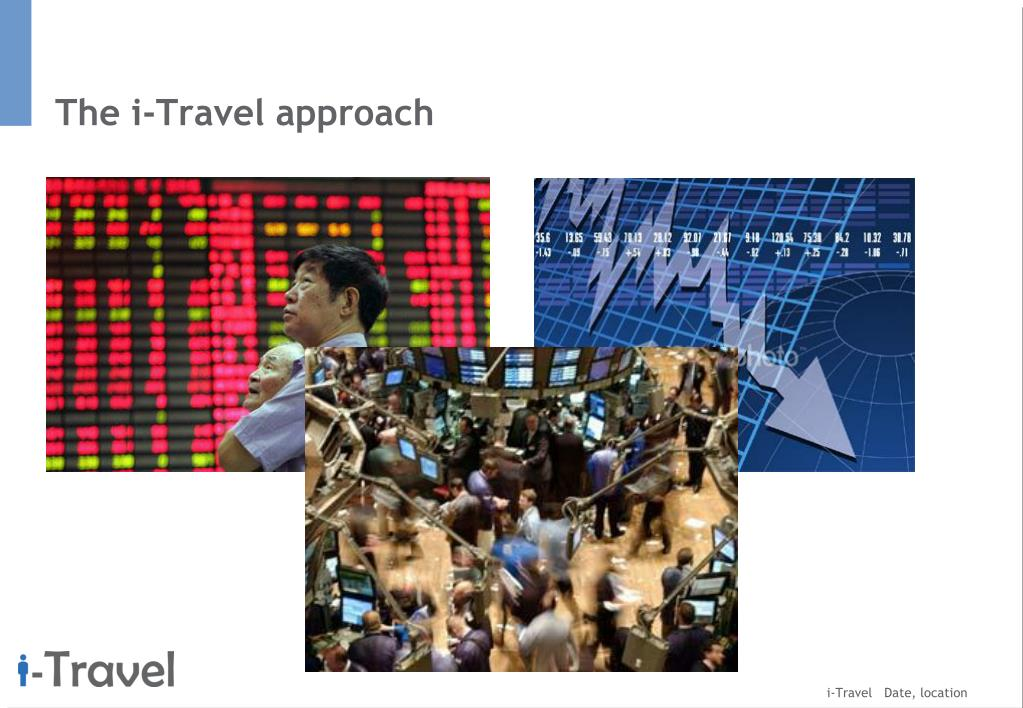 The i-Travel approach