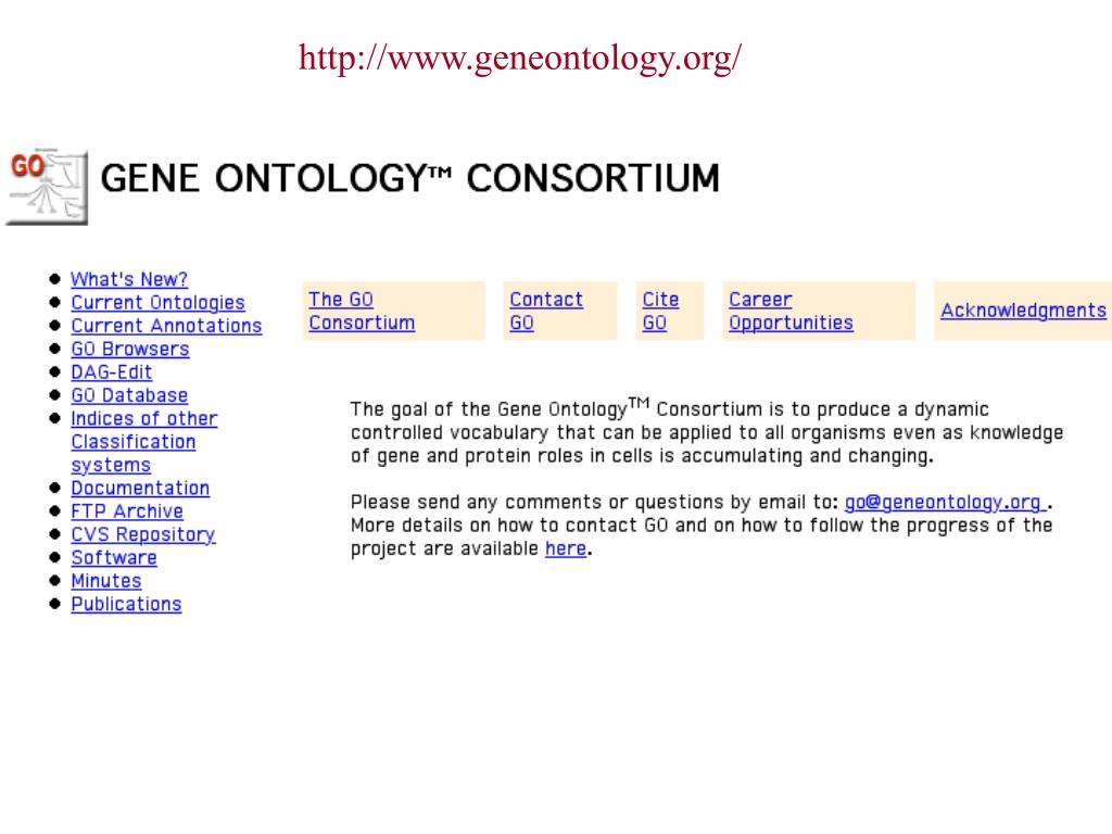 http://www.geneontology.org/