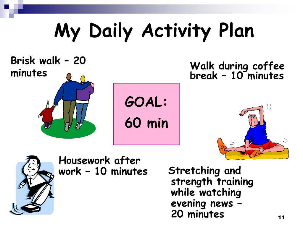My Daily Activity Plan