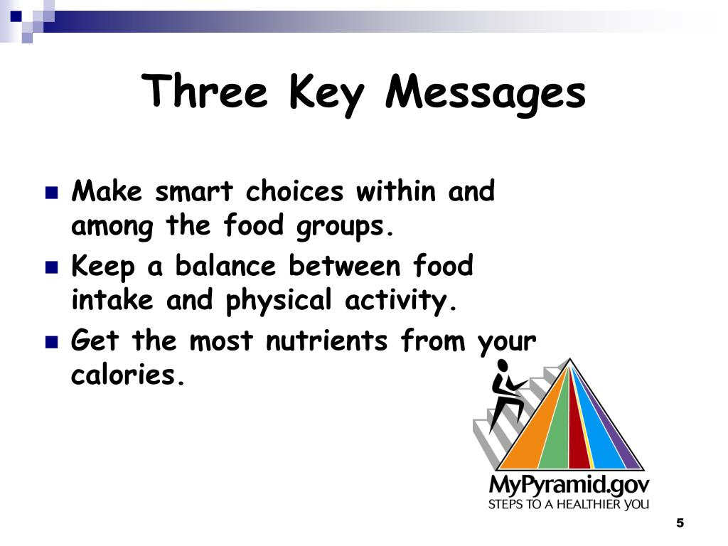 Three Key Messages