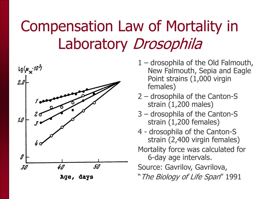 Compensation Law of Mortality in Laboratory