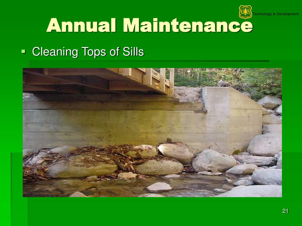 Annual Maintenance