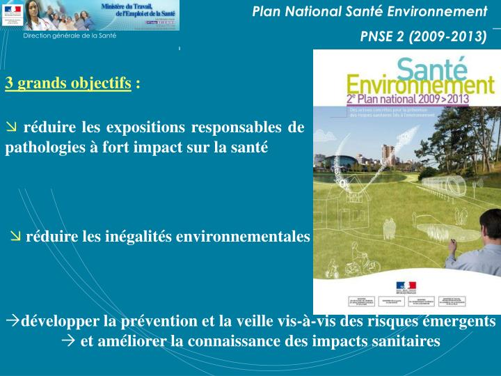 Plan National Santé Environnement