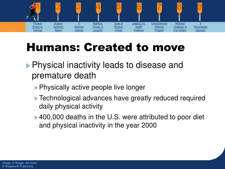 Humans created to move