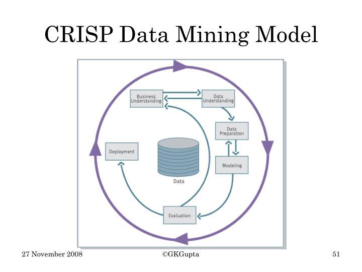 CRISP Data Mining Model