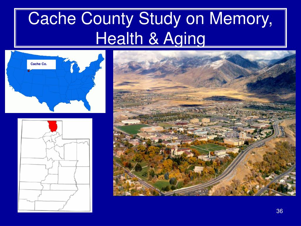Cache County Study on Memory, Health & Aging